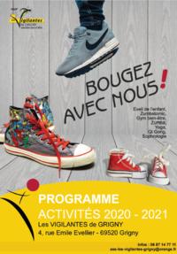 Programme d'activités 2020-2021