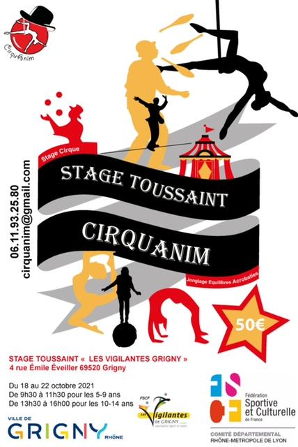 Stage Cirqu'anim 2021