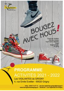 Programme Activités 2021-2022